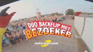 Win een rit achterop de stuntmotor bij Motorsport.com.