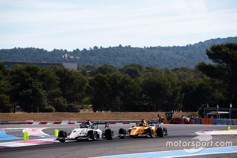 Raoul Hyman, Sauber Junior Team by Charouz e Sebastian Fernandez, Campos Racing