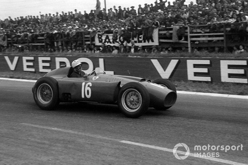 Alfonso de Portago, Ferrari D50