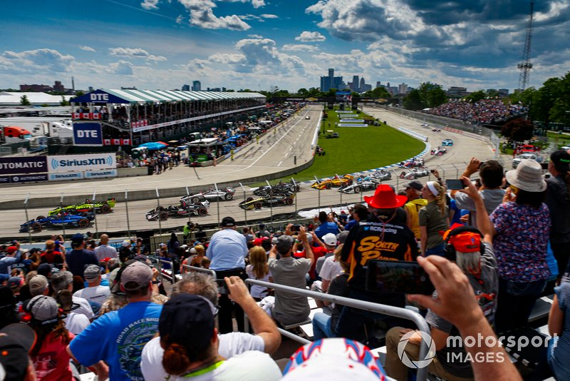 #10: The Raceway at Belle Isle (Detroit) - 114,831 mph