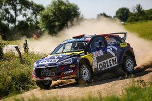 Kacper Wróblewski, Marcin Szeja, Hyundai i20 R5, FIA ERC, RSMP, Rally Poland