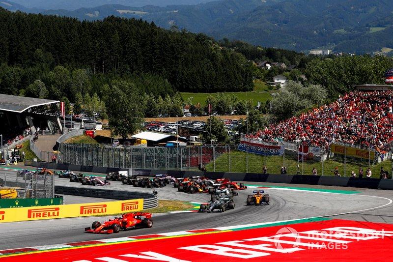 2- GP de Estiria (en el Red Bull Ring de Austria)