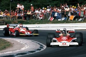 Niki Lauda, Ferrari et James Hunt, McLaren