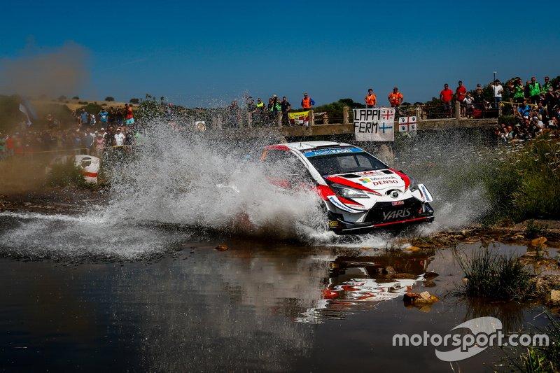 5. Ott Tänak/Martin Järveoja, Toyota Gazoo Racing WRT Toyota Yaris WRC +1:30,1