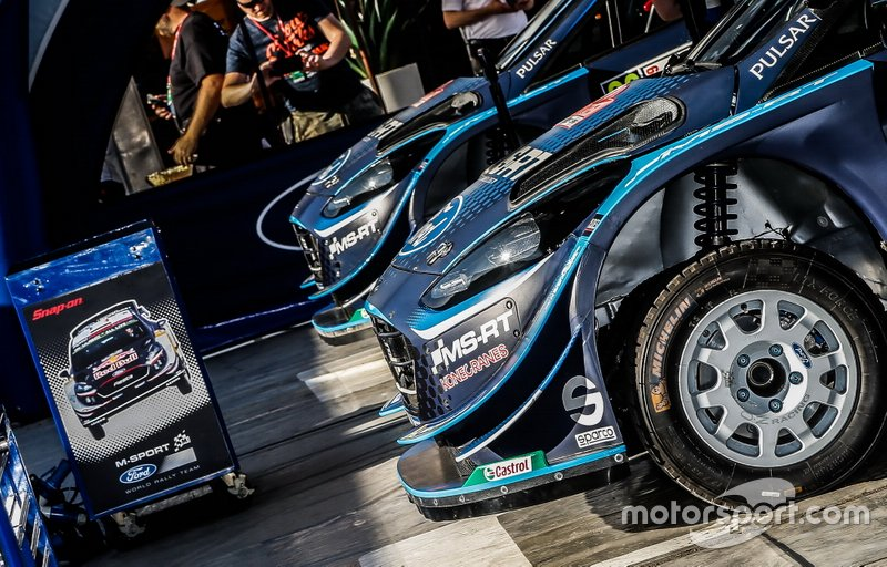 M-Sport Ford WRT zona del team