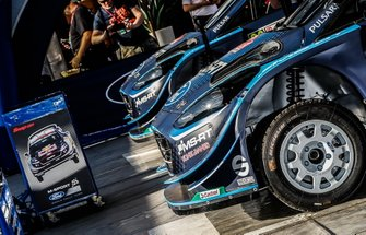 L'assistance M-Sport Ford WRT