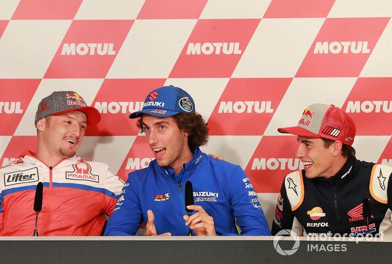 Jack Miller, Pramac Racing, Alex Rins, Team Suzuki MotoGP, Marc Marquez, Repsol Honda Team