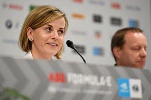 Susie Wolff, Team Principal, Venturi Formula E in the team principals press conference