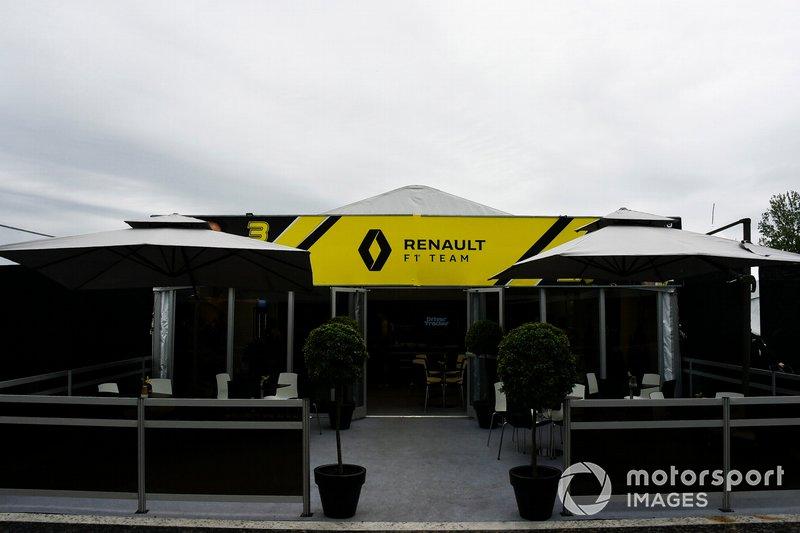 El hospitality de Renault
