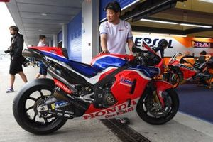 HRC Honda Team carbon-fiber chassis