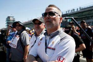 Ted Klaus and Allen Miller of Honda HPD