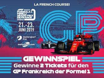 Gewinnspiel: Tickets GP Frankreich 2019