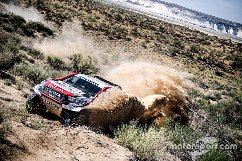 Nasser Al Attiyah, Matthieu Baumel, Toyota