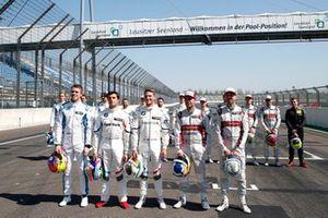 All former champions, Paul Di Resta, R-Motorsport, Bruno Spengler, BMW Team RMG, Marco Wittmann, BMW Team RMG, Mike Rockenfeller, Audi Sport Team Phoenix, René Rast, Audi Sport Team Rosberg
