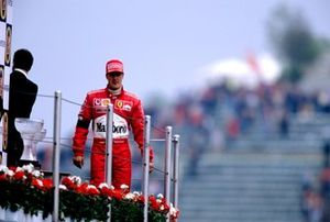 Race winner Michael Schumacher, Ferrari F2002