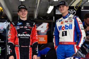 Todd Gilliland, Kyle Busch Motorsports, Toyota Tundra Mobil 1 and Harrison Burton, Kyle Busch Motorsports, Toyota Tundra Safelite AutoGlass