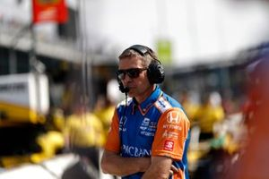 Scott Dixon, Chip Ganassi Racing Honda, Blair Julian