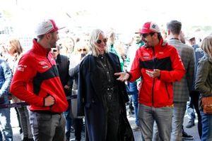 Actress Diane Kruger with Daniel Abt, Audi Sport ABT Schaeffler, Lucas Di Grassi, Audi Sport ABT Schaeffler