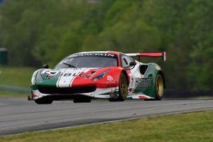 #7, Ferrari 488 GT3, Martin Fuentes and Caeser Bacarella