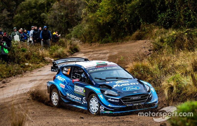 Teemu Suninen, Marko Salminen, M-Sport Ford WRT Ford Fiesta WRC