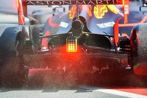 L'arrière de la Red Bull Racing RB15