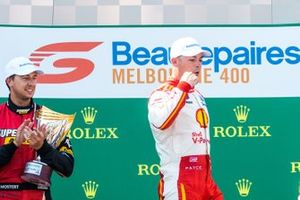 1. Scott McLaughlin, DJR Team Penske Ford, 2. Chaz Mostert, Tickford Racing Ford