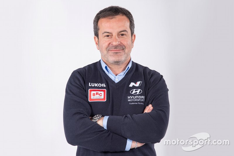 Massimiliano Fissore, CEO, Hyundai BRC Team