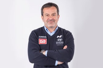 Massimiliano Fissore, CEO, Hyundai BRC Team