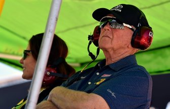 Coach Joe Gibbs, Kyle Busch, Joe Gibbs Racing, Toyota Camry Interstate Batteries