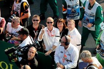 Andrew Westacott, CEO del GP de Australia