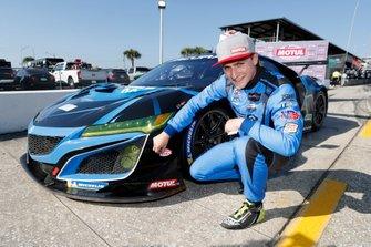 Pole para #86 Meyer Shank Racing w/ Curb-Agajanian Acura NSX GT3, GTD: Trent Hindman