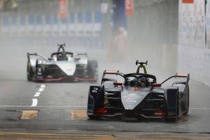 Sam Bird, Envision Virgin Racing, Audi e-tron FE05 Oliver Rowland, Nissan e.Dams, Nissan IMO1