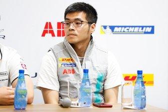 Yaqi Zhang, Team China basın toplantısında
