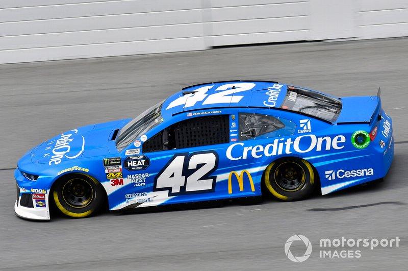 5. Kyle Larson, Chip Ganassi Racing, Chevrolet Camaro