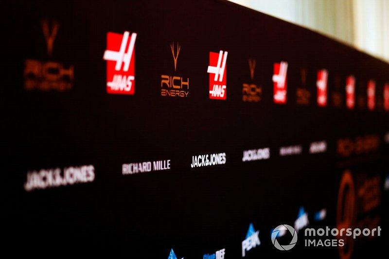 Sponsor Haas F1