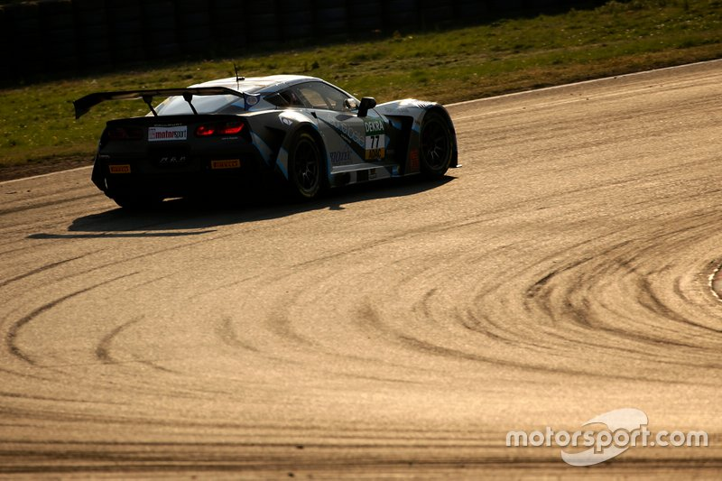 #77 Callaway Competition Corvette C7 GT3-R: Markus Pommer, Marvin Kirchhöfer