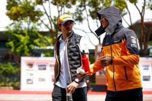 Carlos Sainz Jr., McLaren and Lando Norris, McLaren