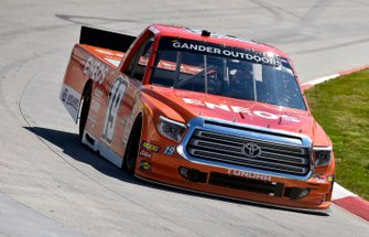 Derek Kraus, Bill McAnally Racing, Toyota Tundra ENEOS/NAPA FILTERS