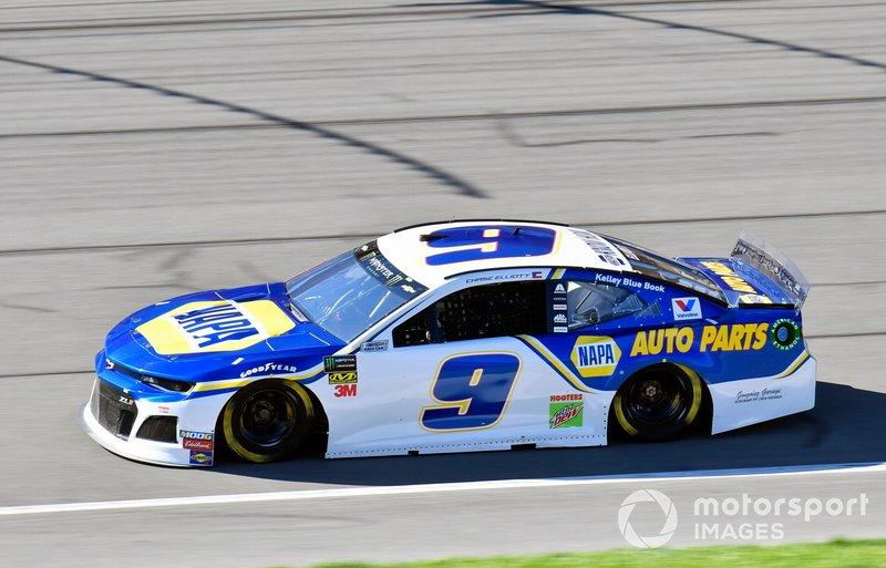 8. Chase Elliott, Hendrick Motorsports, Chevrolet Camaro NAPA AUTO PARTS