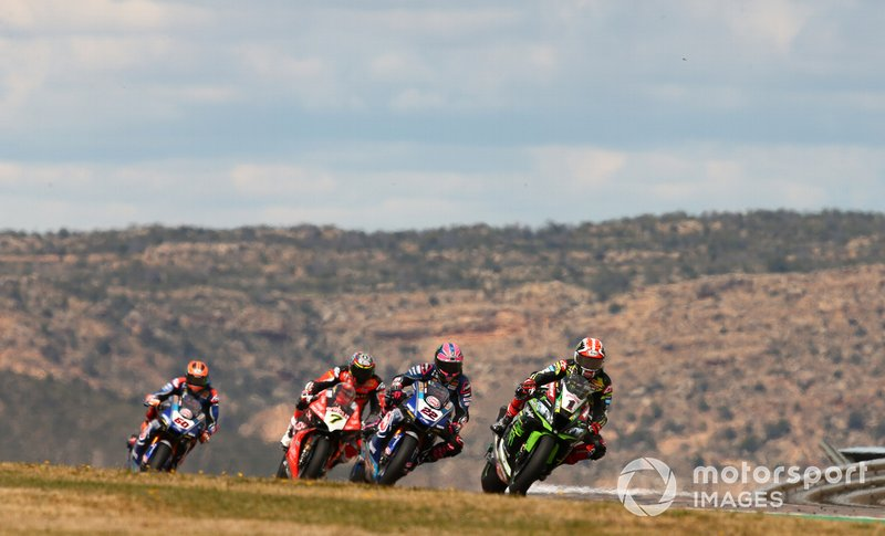 Jonathan Rea, Kawasaki Racing, Alex Lowes, Pata Yamaha, Chaz Davies, Aruba.it Racing-Ducati Team
