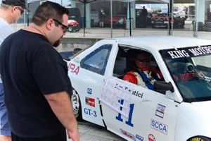 Fans get a look at Jim Dentici's rebuilt 1988 Acura Integra