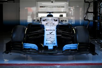 Williams FW42 in the garage