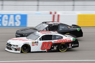 Cole Custer, Stewart-Haas Racing, Ford Mustang Haas Automation, Josh Bilicki, RSS Racing, Chevrolet Camaro RSS Racing