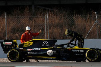 Остановка на трассе: Нико Хюлькенберг, Renault Sport F1 Team R.S.19
