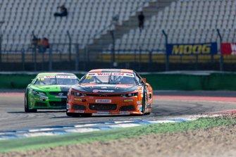 Francesco Sini, Solaris Motorsport, Chevrolet Camary leads Bobby Labonte, RDV Competition, Toyota Camry