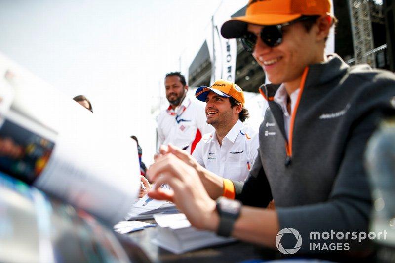 Карлос Сайнс-мол., Ландо Норріс, McLaren