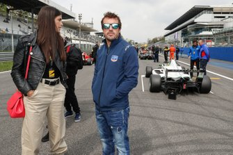 Fernando Alonso, Team Principal of FA Racing By Drivex
