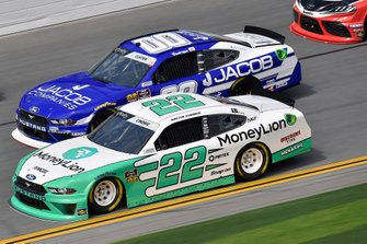 Austin Cindric, Team Penske, Ford Mustang MoneyLion and Cole Custer, Stewart-Haas Racing, Ford Mustang Jacob Companies