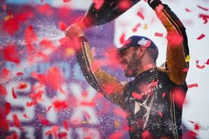 Jean-Eric Vergne, DS TECHEETAH, 1st position, celebrates