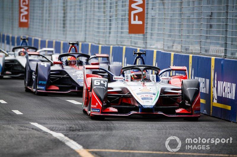 Jérôme d'Ambrosio, Mahindra Racing, M5 Electro, Robin Frijns, Envision Virgin Racing, Audi e-tron FE05